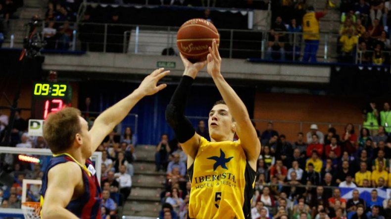 Richotti realizó la mejor jugada de la fecha en el básquet español