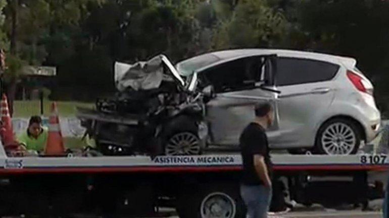 El Ford Fiesta que el conductor alcoholizado manejó a contramano durante más de un kilómetro y medio.