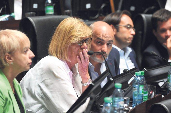 La sesión de ayer donde la Legislatura porteña aprobó el convenio entre Macri y Rodríguez Larreta para el traspaso de la fuerza federal a la órbita de la Ciudad Autónoma en esa jurisdicción.