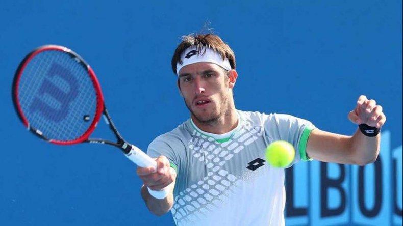 Leonardo Mayer se despidió de manera temprana del primer Grand Slam de la temporada que se disputa en Melbourne.