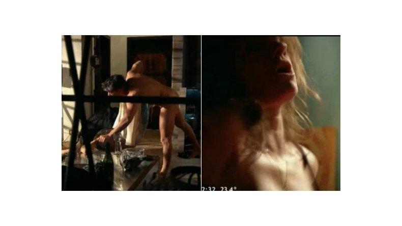 La Leona arrancó con escenas de sexo y un desnudo de Echarri