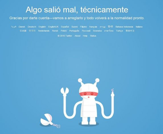 Usuarios registran problemas para usar Twitter