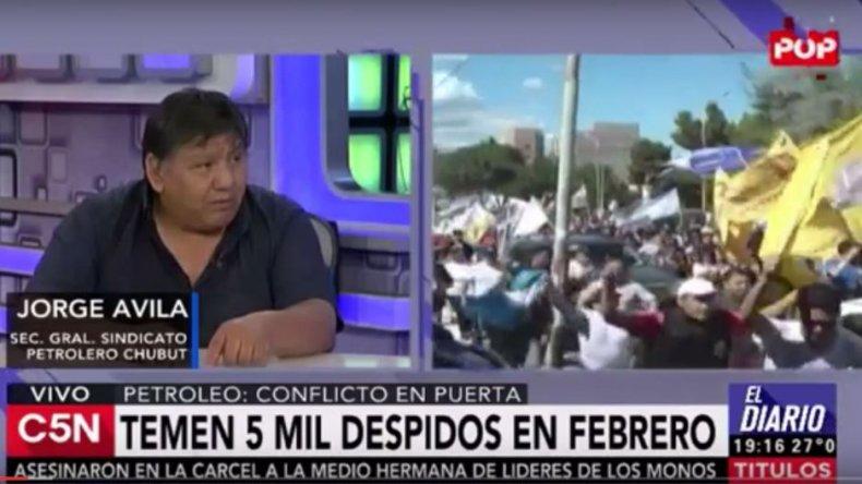 Jorge Ávila habló de la crisis petrolera en C5N