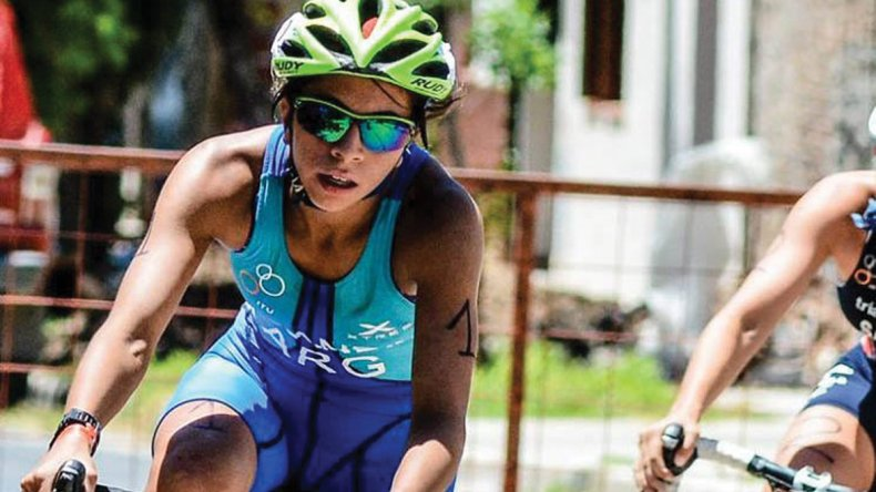Moira Miranda se encuentra concentrando en La Paz