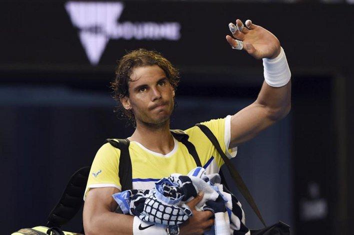 El ex número uno del mundo Rafael Nadal se despidió del primer Grand Slam de la temporada.