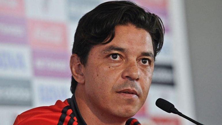 Marcelo Gallardo ratificó la necesidad de traer un delantero para reforzar el ataque de River.