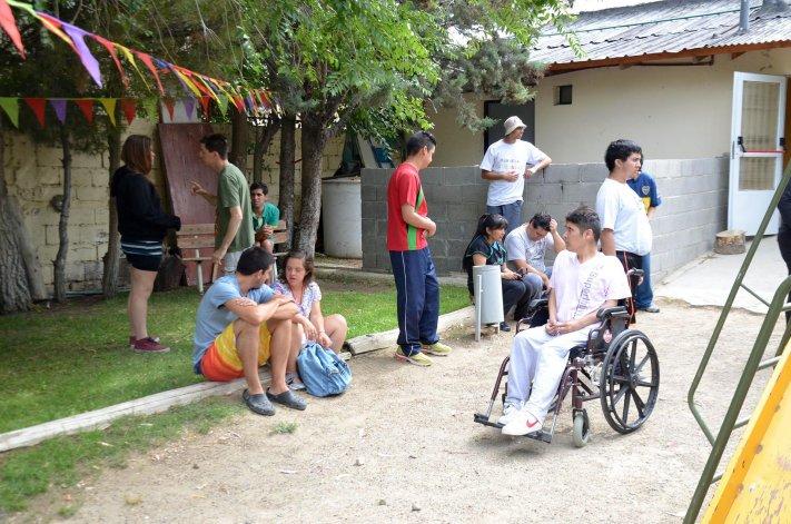 Con una gran participación quedó inaugurada ayer la Colonia de Verano para personas con discapacidad.