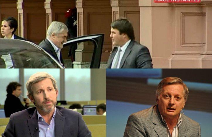 Reunión clave en Buenos Aires con Frigerio y Aranguren: Das Neves ya está en Casa Rosada