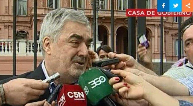 Mario Das Neves se despega de los gobernadores que critican a Macri
