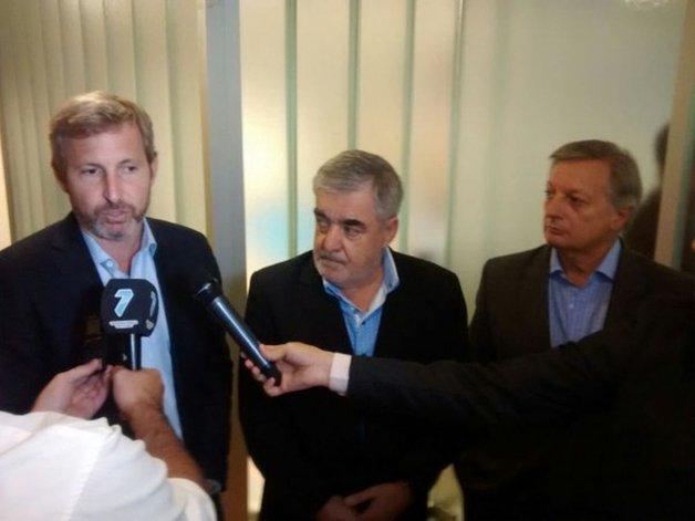 Das Neves le reclamó a Nación un esquema de incentivos y el martes habrá otro encuentro