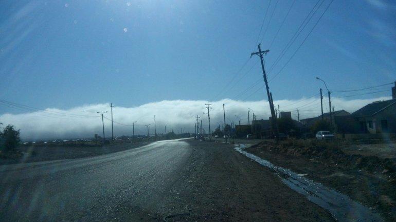¡Comodoro está bajo un manto de niebla!
