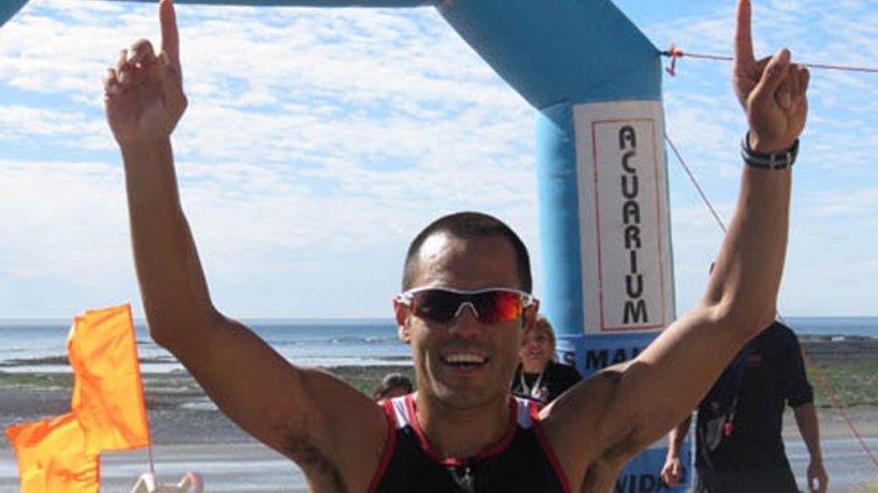 El comodorense Martín Bravo viene destacándose seguido en las diferentes competencias de triatlón.