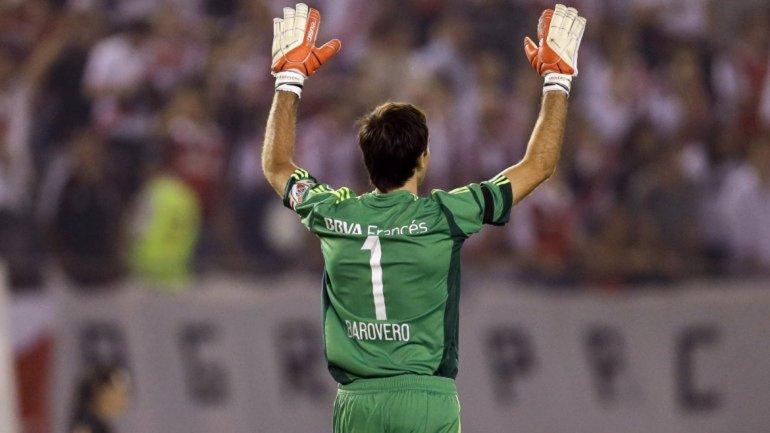 Barovero llegó a River en 2012 y se convirtió en una de sus máximas figuras.