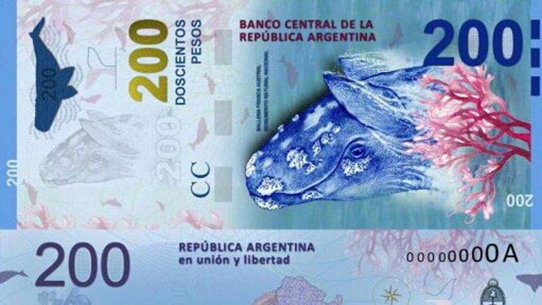 El diseño del billete de $200 también genera controversia en Comodoro