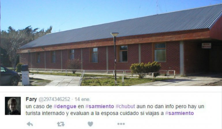 Desmienten un caso de dengue en Sarmiento