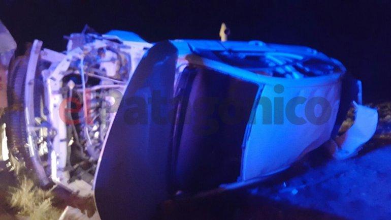 El ministro Bohe volcó cerca de Garayalde: está internado con pronóstico reservado