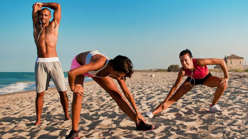 ¡Aprovechá el verano! Ejercicios en la playa