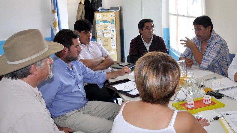 La reunión con dirigentes del fútbol de salón de Comodoro Rivadavia y funcionarios del ente Chubut Deportes y Comodoro Deportes fue muy positiva.