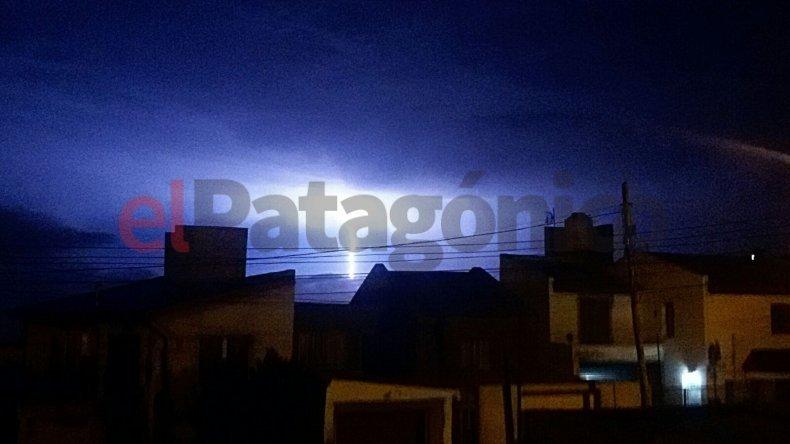 Foto: Marian vía whatsapp a El Patagónico.