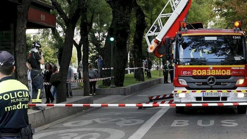 Multaron a un camión de bomberos por exceso de velocidad