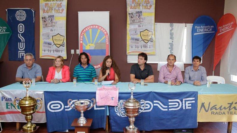 El torneo fue lanzado ayer de manera oficial en instalaciones del Club Náutico Rada Tilly