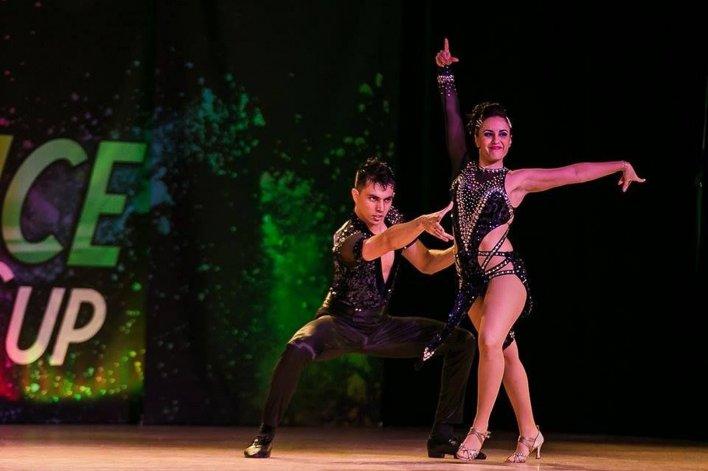 Una bailarina comodorense compitió en el World Latin Dance Cup de EE.UU.
