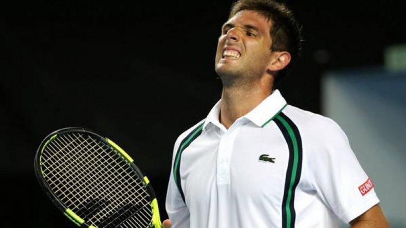 Federico Delbonis perdió y el primer Grand Slam de la temporada se quedó sin la presencia de tenistas argentinos.