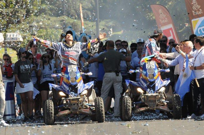 Marcos Patronelli (Yamaha) conquistó su tercer título de Dakar en cuatriciclos y realizó un 1-2 en el podio de esta edición junto a su hermano Alejandro.
