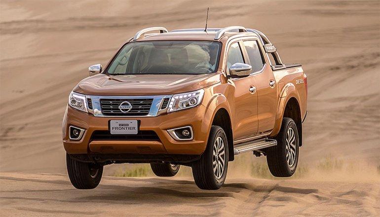 Nissan presentó la NP300 Frontier en Argentina