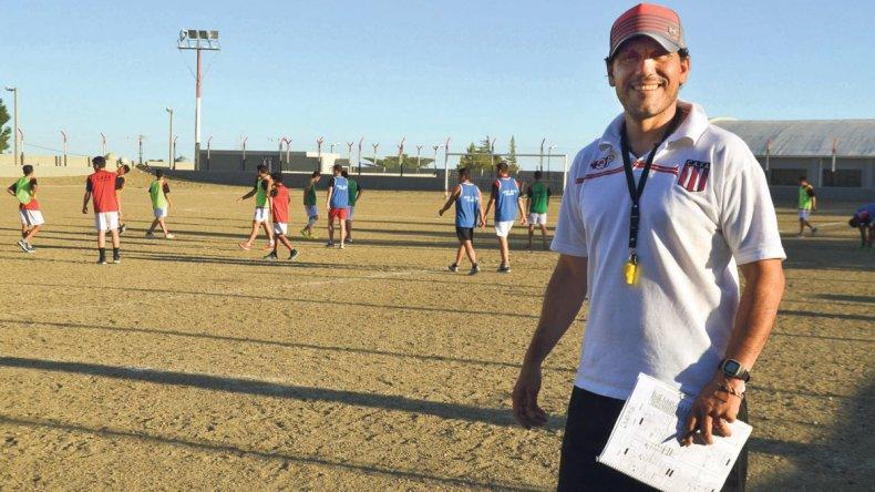Orlando Portalau comenzó una nueva etapa en Florentino Ameghino y quiere cumplir proyectos a largo plazo.