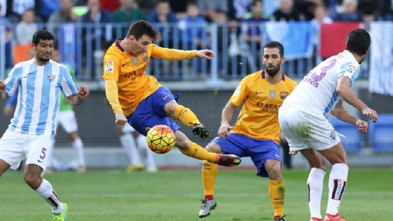 Lionel Messi aportó un golazo para la victoria de Barcelona