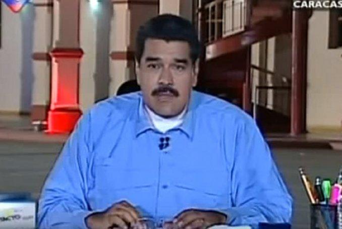 Maduro dijo que irá con todo contra Macri