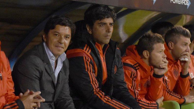Marcelo Gallardo se quedó con lo hecho por River en los primeros 45 minutos de juego en el Superclásico ante Boca.