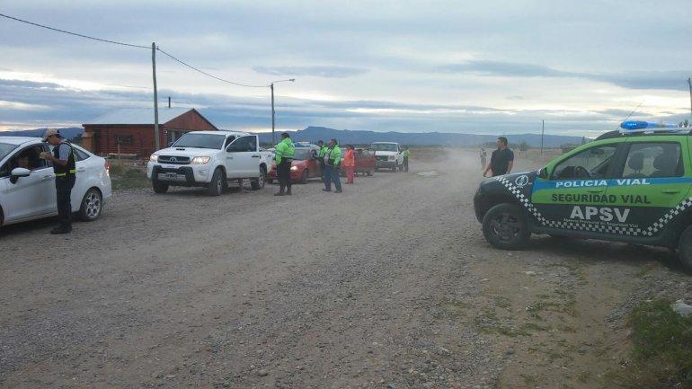 Los controles de tránsito continúan en diferentes partes de la provincia.