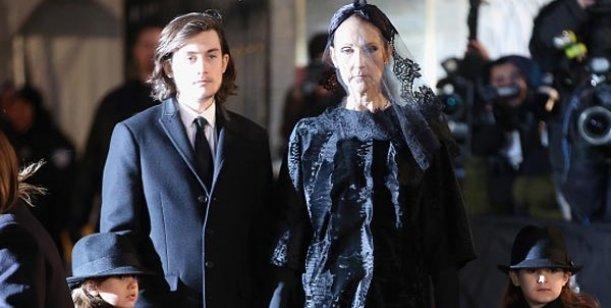 Céline Dion le cumplió el último deseo a su marido en un emotivo funeral