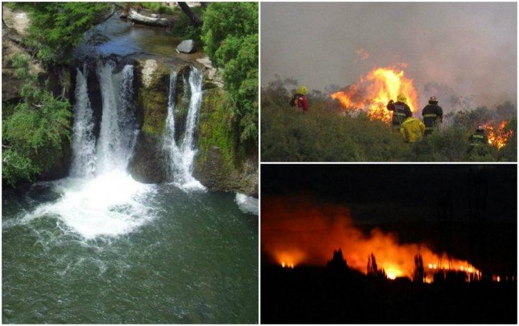 Trevelin: El fuego consumió 100 hectáreas se evalúa la llegada de bomberos extraregionales