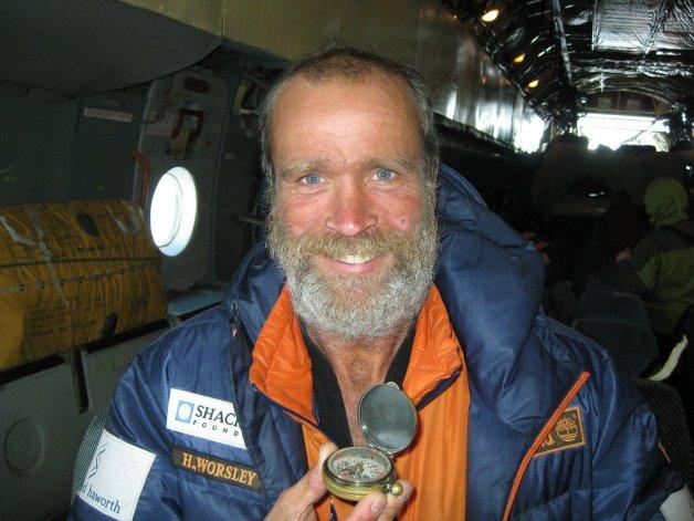 Murió Henry Worsley, el explorador que  intentaba cruzar la Antártida a pie