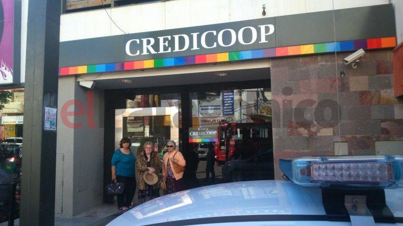Falsa alarma en el Banco Credicoop