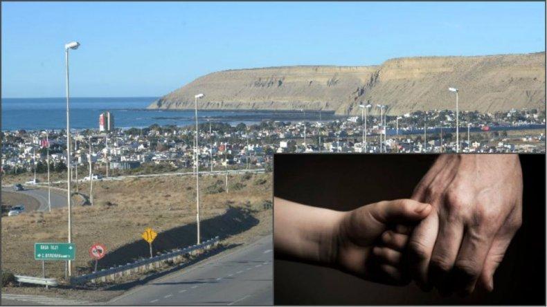 Una pareja robaba autos en la costanera de Rada Tilly acompañada de su hija de 3 años