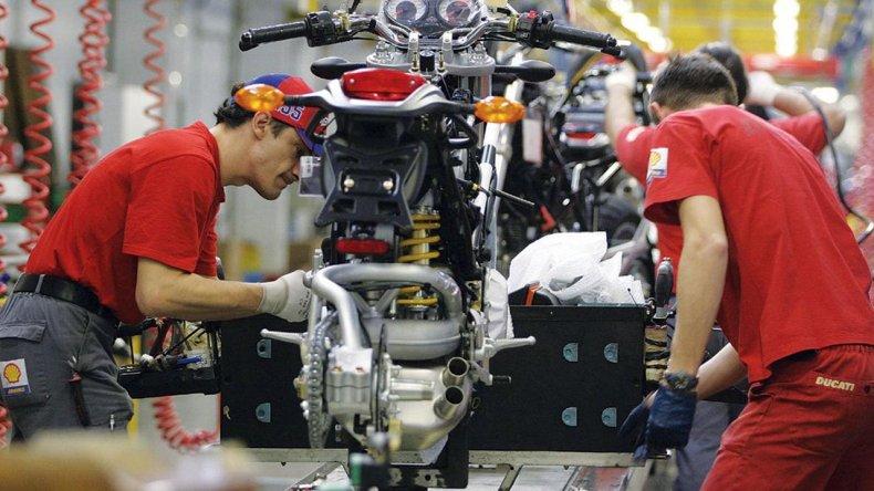 Durante 2015 se vendieron en la Argentina alrededor de 480 mil motocicletas.