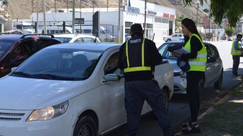 Ayer al mediodía se realizó un nuevo operativo conjunto entre Tránsito y Rentas.