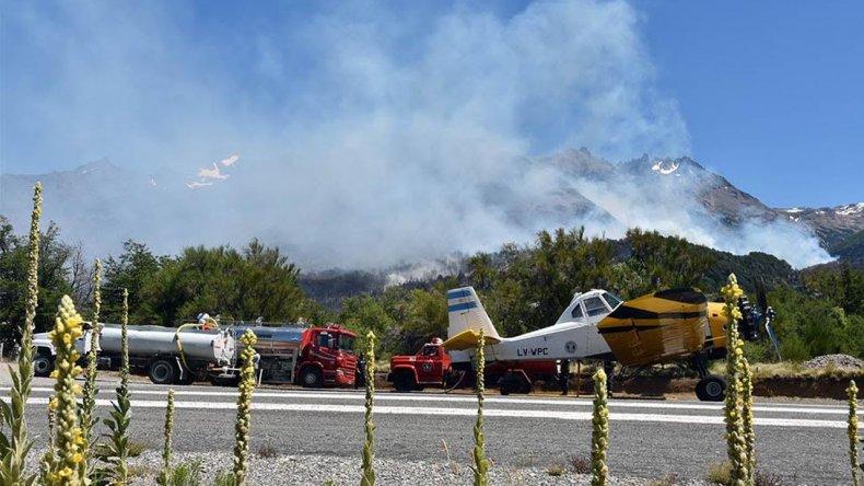 Detuvieron a dos sospechosos por el incendio de Los Alerces