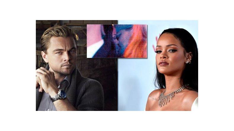 Leo Dicaprio y Rihanna fueron sorprendidos a los besos