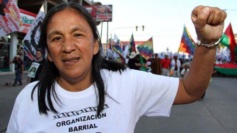 Milagro Sala está acusada por instigación a cometer delitos y tumulto en Jujuy.