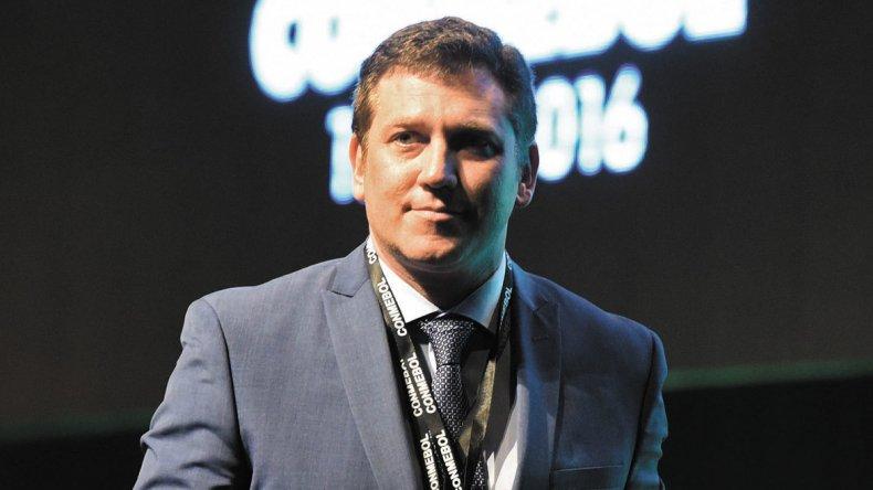 Alejandro Domínguez fue elegido ayer como nuevo presidente de la Confederación Sudamericana de Fútbol.