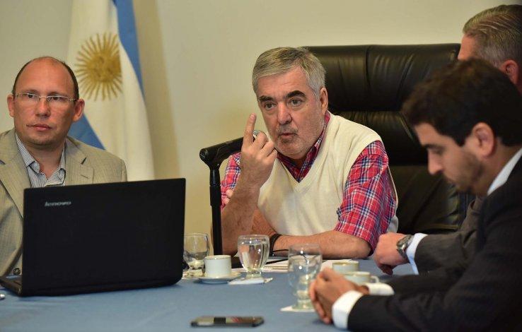 El gobernador del Chubut