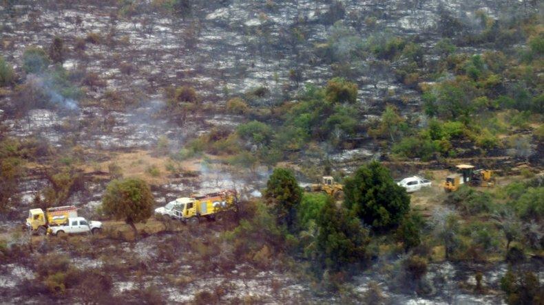Los incendios en Los Alerces y en Trevelin están controlados