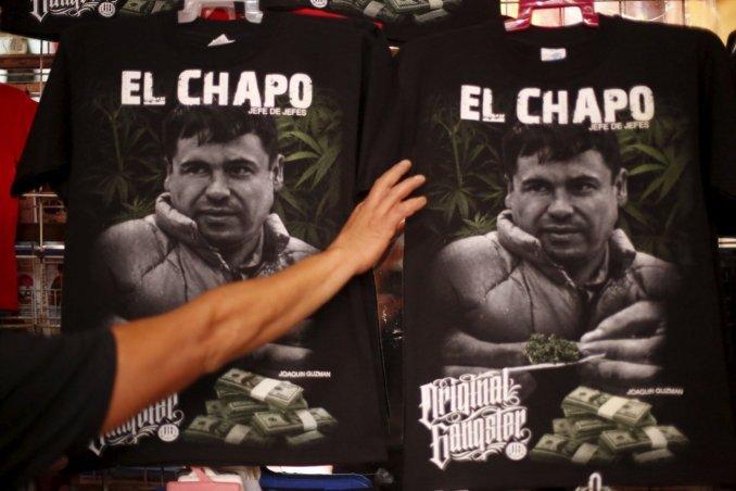 El Chapo Guzmán se registró como marca