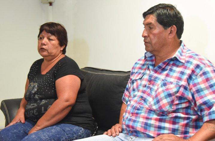 La madre de Néstor Vázquez pide que no lo vinculen con el homicidio de Sanzana