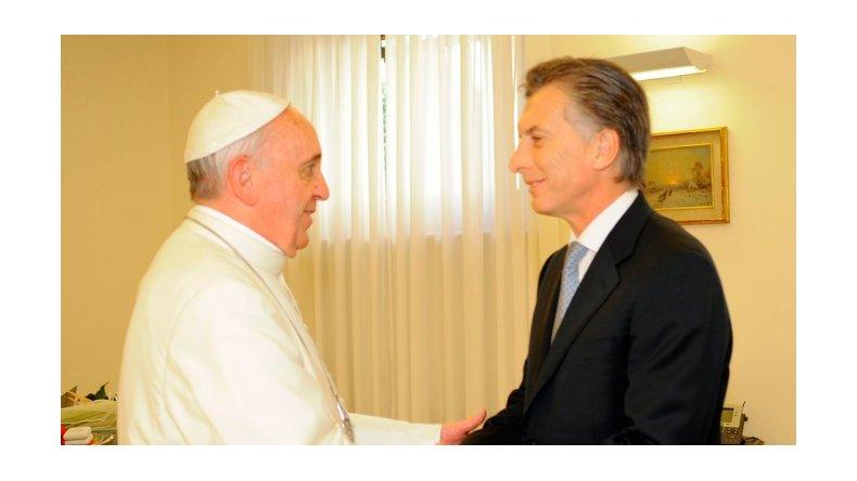 El papa Francisco recibirá a Macri el 27 de febrero